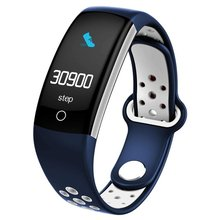 HOT LCD Q6 Smart Band Heart Rate Monitor Fitness Bracelet Ip68 Waterproof Smart Bracelet Fintess Tracker hot selling fitness smart bracelet ip68 waterproof gps smart band heart rate monitor activity tracker watch pk mi band 3 for men