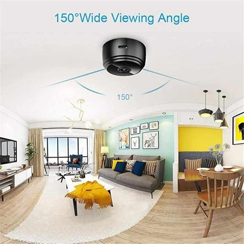 A9 мини-камера 2,4G беспроводная Wifi 1080P HD камера ночного видения Домашняя безопасность видеокамеры приложение удаленный монитор