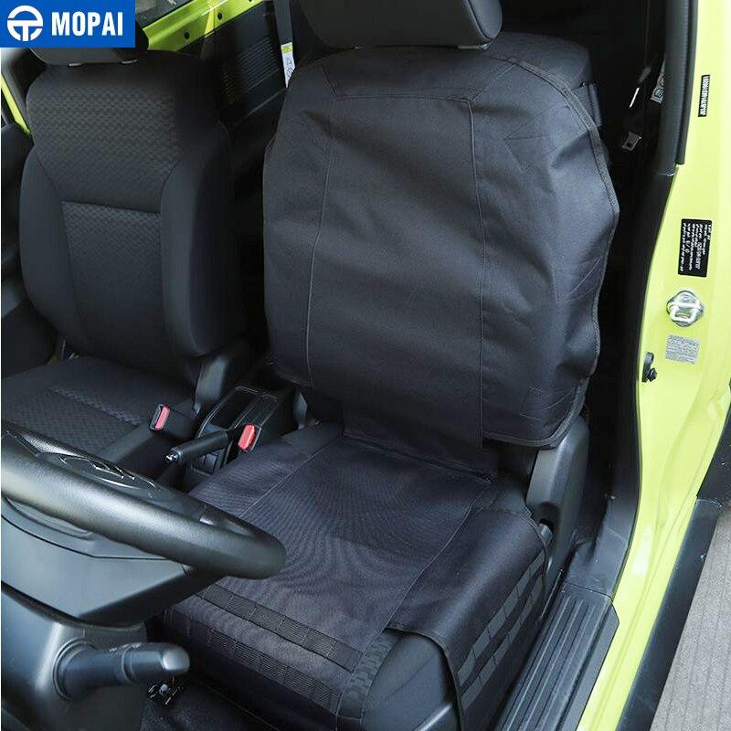 MOPAI Stowing Tidying for Wrangler Car Seat Storage Bag Organization for Jeep Wrangler TJ JK JL JT Universal Accessories
