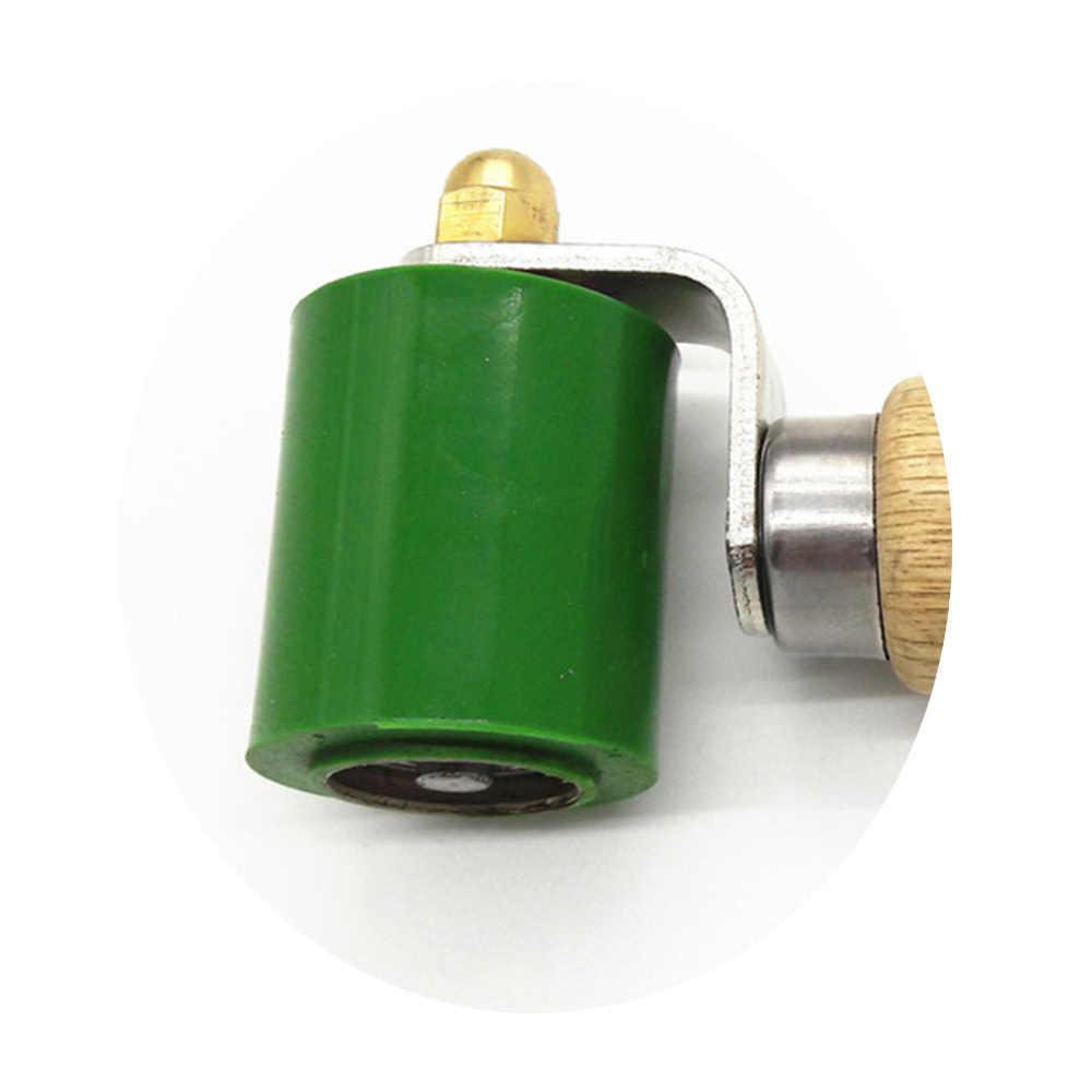 Rodillo de mano para soldador de plástico, 40mm, de silicona resistente a altas temperaturas, rodillo de presión de la mano para techos de PVC, herramienta de soldadura