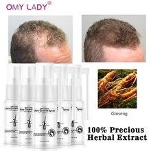 OMY LADY – Spray d'huile essentielle liquide pour hommes et femmes, produit de soins pour la croissance des cheveux, pour la réparation des cheveux secs
