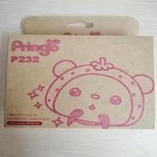 цены For Hiti Pringo P232 Professional Photo Paper for HITI Pringo P232 WiFi Portable Mini Printer 108 Sheets and 1 ribbon