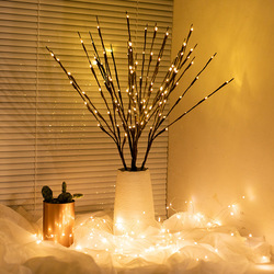 1pcs LED Love/Willow Branch Lamp Battery Powered  Wedding Decorations for Home Willow Twig Lighted Branch for Home Decorative