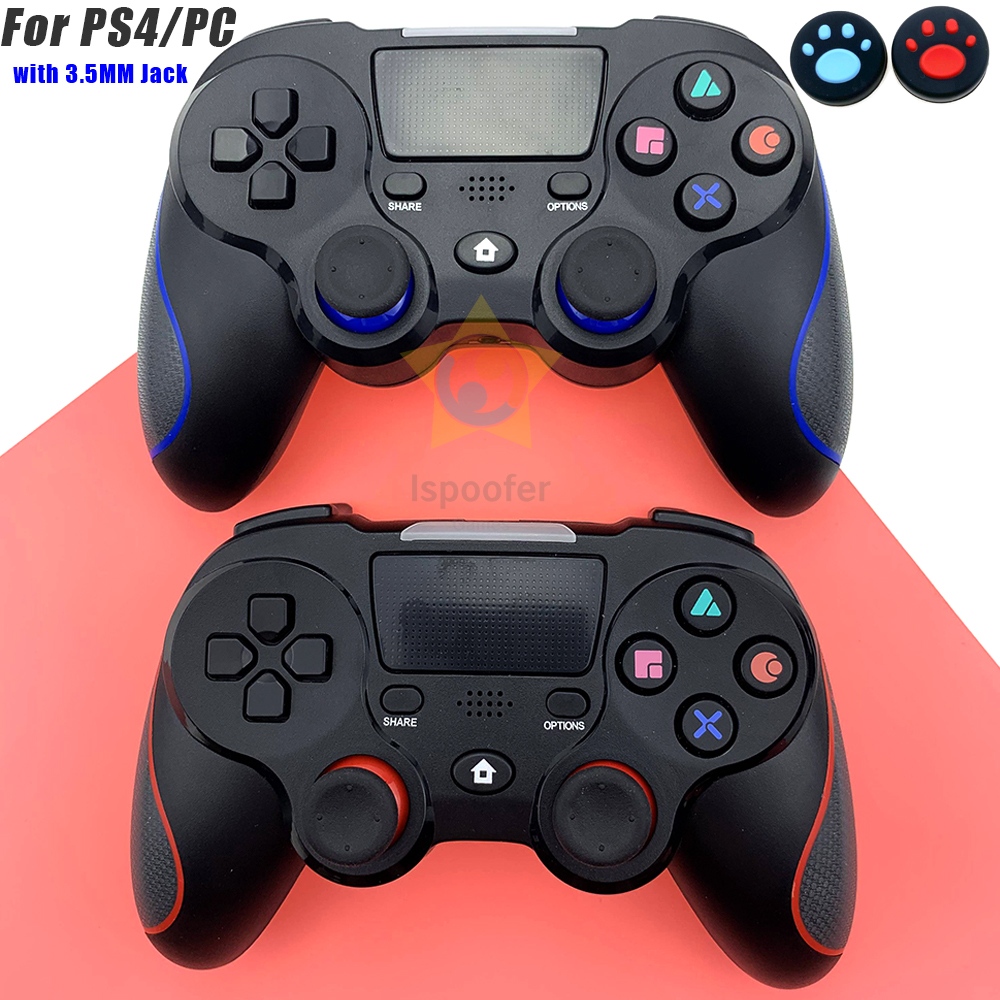 For Wireless Gamepad Controller For Playstation Dualshock PS4 4 Bluetooth Joystick Gamepads for PS4/PS4 Pro Silm PC game 1