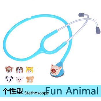 Stethoscope children pediatric medical colorful animal crystal