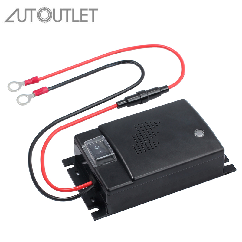 AUTOUTLET Ultrasonic Mouse Repellent Car Mouse Repeller For Car Mobile Home Marten Shock Repellent Ultrasound 12V