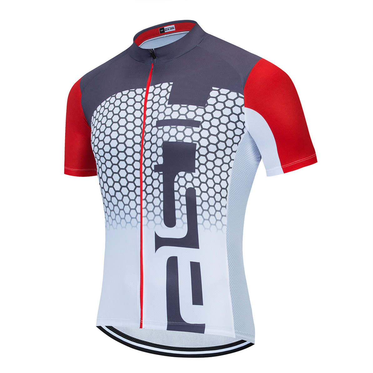 2020 Cycling Jersey Men Bike Jerseys Racing Bicycle Top pro Team Ropa Ciclismo mtb Mountain Shirt short sleeve summer white red