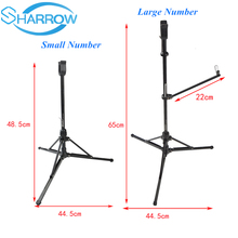 1Pc High-end Flodable  Aluminum Recurve Bow Stand Holder Foldable Bracket Rack Hanger Archery