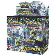 324 карт Pokemon Card Sun& Moon Lost Thunder Booster Box(упаковка из 36) карточная игра детская коллекция игрушек