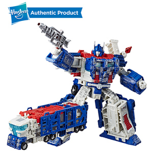Image 4 - Hasbro Transformers Toys Generations War for Cybertron Siege Leader WFC S40 Galaxy Upgrade Optimus Prime Shockwave Ultra Magnus
