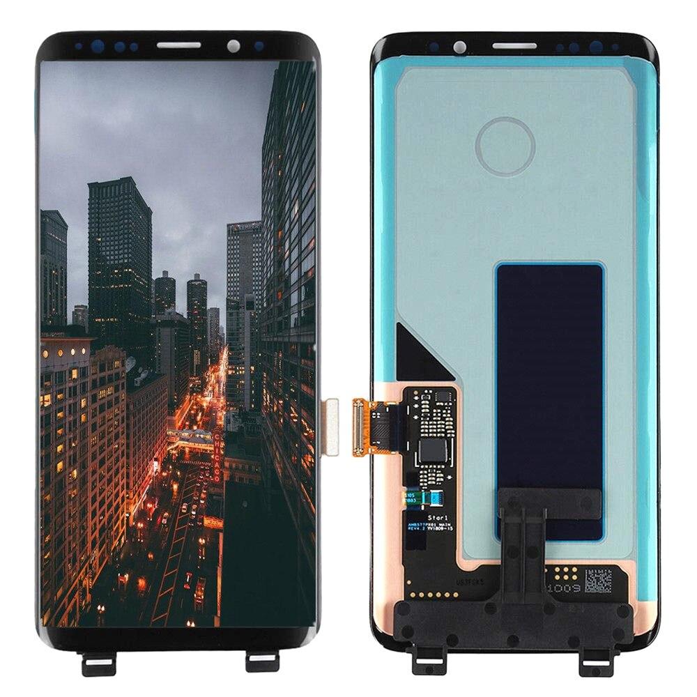 Оригинальный супер AMOLED ЖК дисплей для Samsung Galaxy S9 G960 G960F ЖК дисплей сенсорный экран для Galaxy SM G960 ЖК дисплей с черной точкой|Экраны для мобильных телефонов|   | АлиЭкспресс