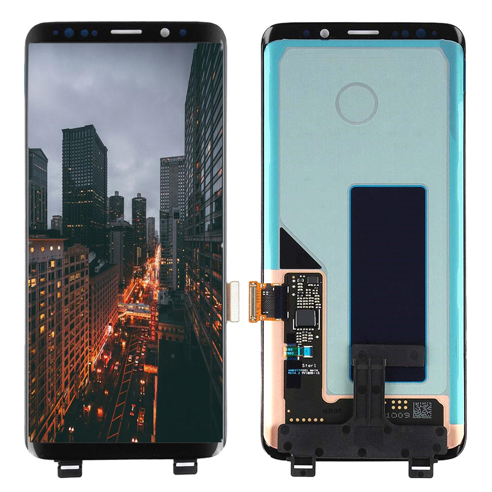 Original Super AMOLED LCD For Samsung Galaxy S9 G960 G960F LCD Display Touch Screen For Galaxy SM-G960  LCD With Black Spot Dot