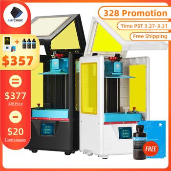 ANYCUBIC photon-s drukarka 3D podwójna oś Z szybki plaster 405nm matryca moduł UV SLA drukarka 3d żywica fotony ulepszony Impresora 3d tanie i dobre opinie ANYCUBIC Photon S 20mm H max 0 01-0 2mm English 20mm Hour Resin Photon S workshop 0 00125mm 110-220 V 115mm*65m*165mm LCD shadow masking