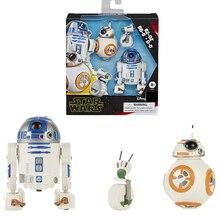 Star Wars Pack Droids สมาร์ท R2 D2 BB 8 และ D O E3118 ตัวเลขการกระทำสำหรับเด็กคริสต์มาสของขวัญ