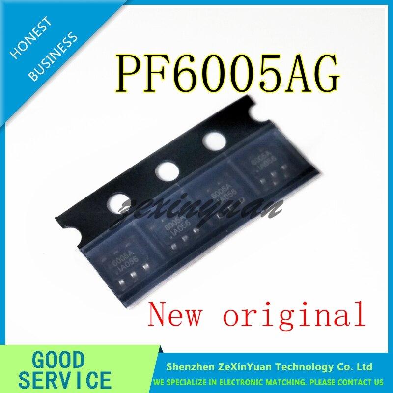 2PCS 5PCS 10PCS 100% New Original PF6005AG 6005A SOT23-6 PF6005 IC Chip 100% New Original In Stock