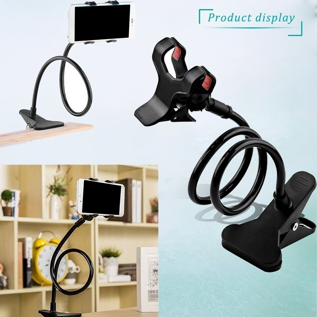 360 Rotating Flexible Long Arms Mobile Phone Holder Desktop Bed Lazy Bracket Mobile Stand Support For IPhone For Samsung
