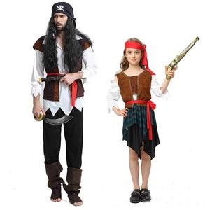 Image 4 - 2019 motyw świąteczny urodziny kostiumy dla dzieci chłopcy kostium pirata zestaw na Cosplay dla dzieci Halloween boże narodzenie dla dzieci dzieci