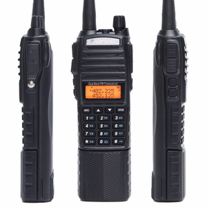 Image 5 - Baofeng UV 82 Plus Walkie Talkie 8W Powerful 3800 mAh Battery DC Connector UV82 Dual PTT Band two way radio 771 tactical Antenna