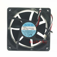 For Fanuc system cooling fan 4715KL-05W-B39 NMB DC24V 12CM 12038 120X120X38MM