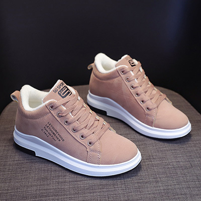 Women's Sneakers Female New Women's Boots Winter Plus Velvet Cotton Shoes Thick-Soled Warm Snow Women's Boots Women'sCottonBoots