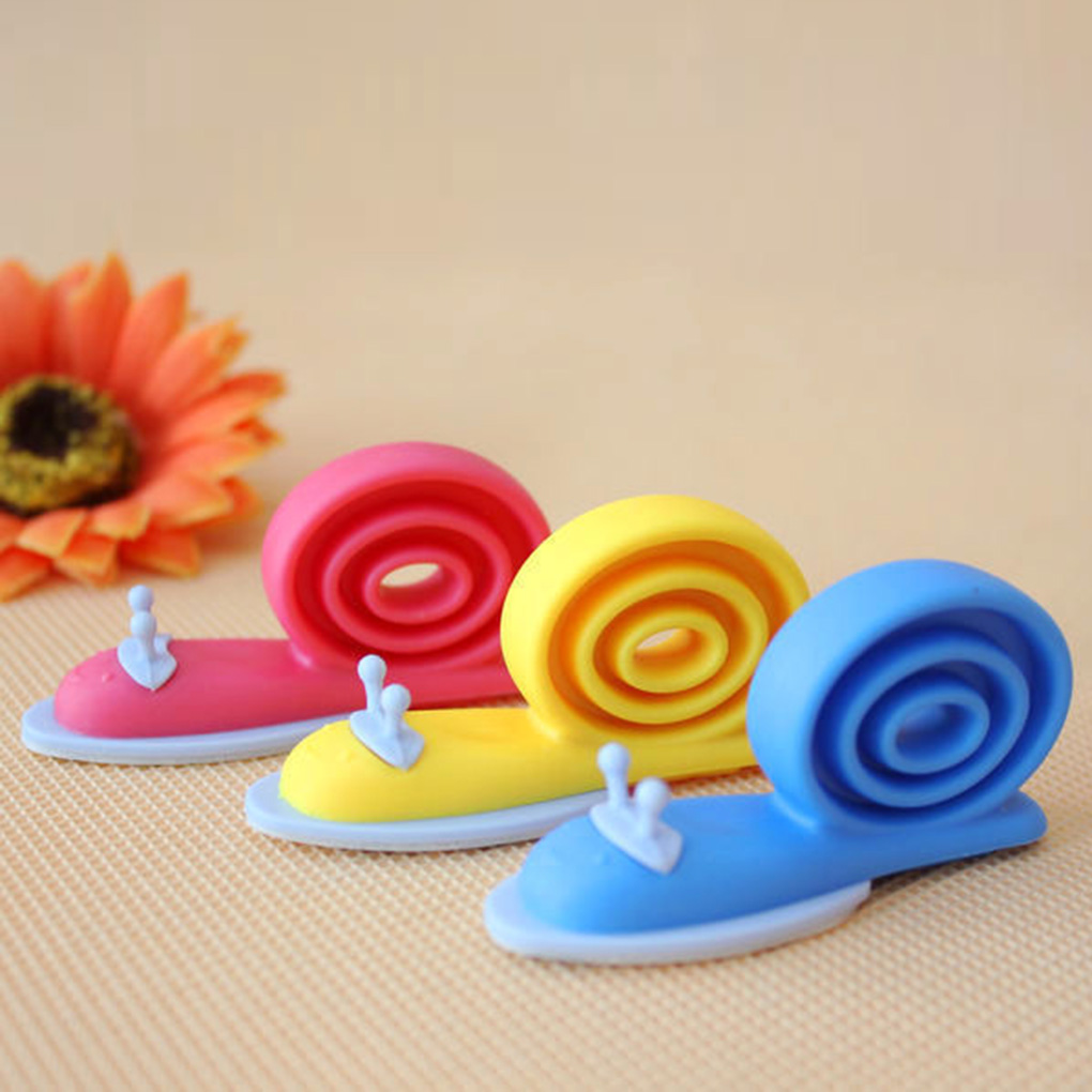 3PCS Snail Shaped Baby Proofing Finger Pinch Guard Safety Door Stopper