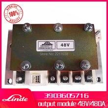 Linde 지게차 순정 부품 3903605704 또는 3903605716 출력 모듈 1 개 사용 322 324 전기 트럭 E12/E14/E15/E16/E18