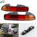 ZUK автомобильный светильник s заднего бампера отражатель Туман светильник светодиодный светильник тумана для MITSUBISHI PAJERO 2001 2002 2003 V73 хвост све...