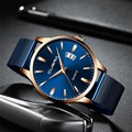 Модные мужские часы геометрический круглый сплав Бизнес кварцевые наручные часы