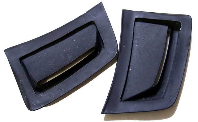 Real CARBON SIDE VENT INSERT 1 pair for BENZ W204 C63 Facelift Coupe 2012-2014 M077 3