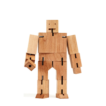 Log Robot Transforms Cube Wooden Dolls Decompression Toys Children's Intelligence Interest Cultivation Parent-child Interaction(China)