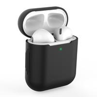 Funda protectora de silicona blanda para Apple Airpods Pro, funda protectora a prueba de polvo para auriculares Apple Airpods 1/2