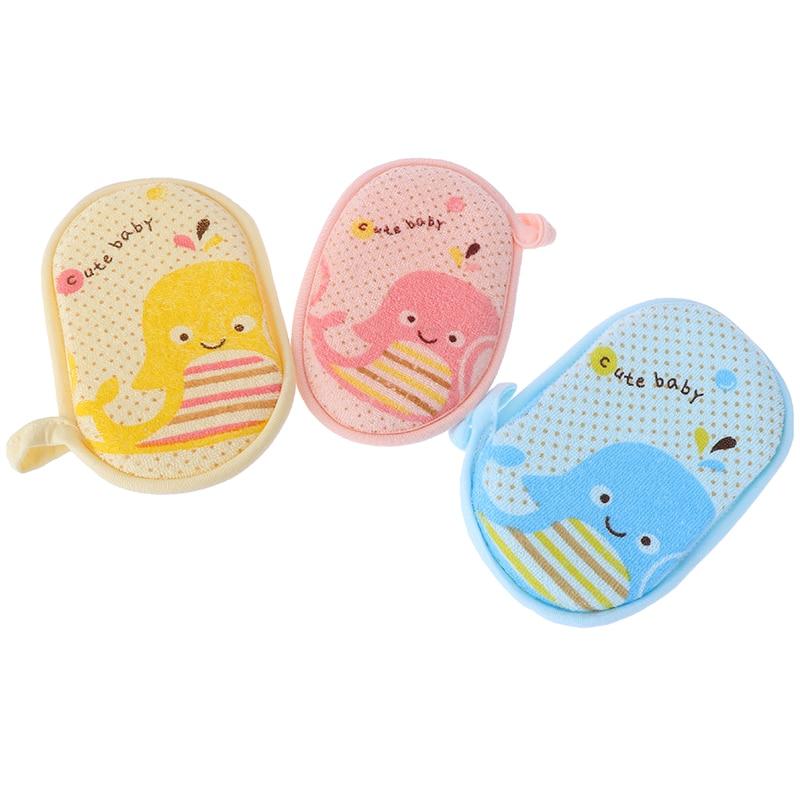 Baby Bath Sponge Infant Loofah Cute Kid Children Newbron Infant Shower Product Rub Towel Ball Soft Baby Bath Sponge Powder Puff