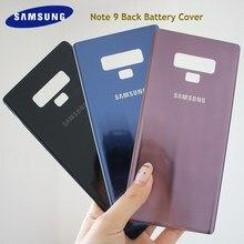 Samsung nota 9 voltar porta da bateria traseira 3d caso de habitação vidro para samsung galaxy note9 n960 n960f n9600 SM-N9600 telefone volta capa