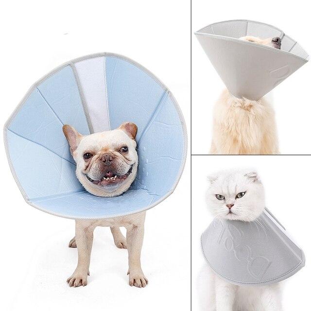 Pet Anti Scratching Neck Collar Velcro Cat Collar Protection 3
