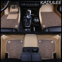 KADULEE – tapis de sol de voiture personnalisé, pour Chevrolet Cruze Camaro Captiva Sonic Sail Spark Aveo Blazer epica Equinox Cavalier Trax