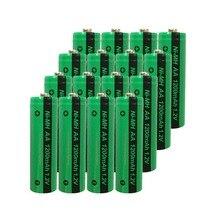 16x NiMH AA 충전식 배터리 PKCELL 1200mAh 1.2V Ni MH 산업용 배터리 Bateria button Top