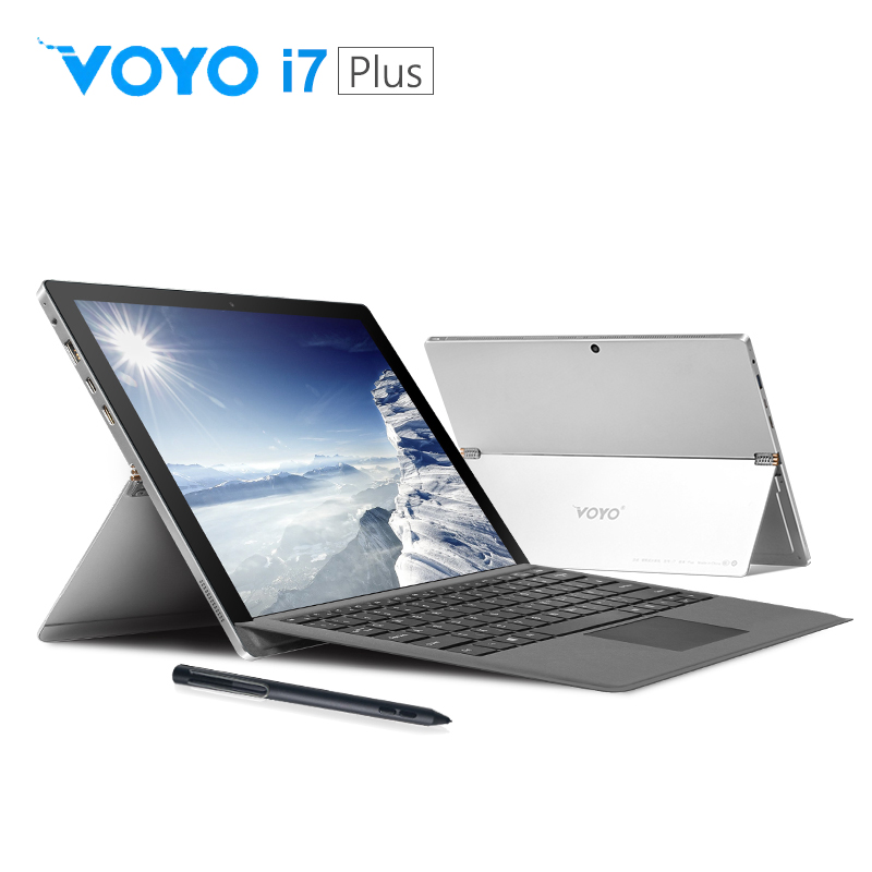 VOYO 2in1 Tablet PC i7plus Core i7 7500U with keyboard  amp pen IPS Screen Laptop Computer windows10 license 16G RAM 512G Bluetooth