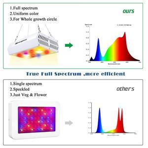 Image 5 - 800 واط 1200 واط LED تنمو ضوء 3000 كيلو COB الطيف الكامل بما في ذلك الأشعة فوق البنفسجية الأشعة تحت الحمراء ديزي سلسلة ل النباتات المائية في الأماكن المغلقة
