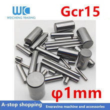 GCr15 Steel roller bearing 1mm pin wooden dowel drive shaft motor shaft 3 4 5 6 7 8 10mm(China)