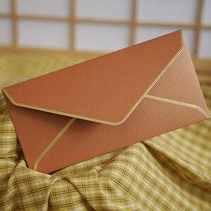 Image 3 - 20 Stks/partij #5 Enveloppen Retro Parel Papier Enveloppen Bruiloft Uitnodiging Wenskaarten Gift Drop Shipping 220 Mm X 110 Mm