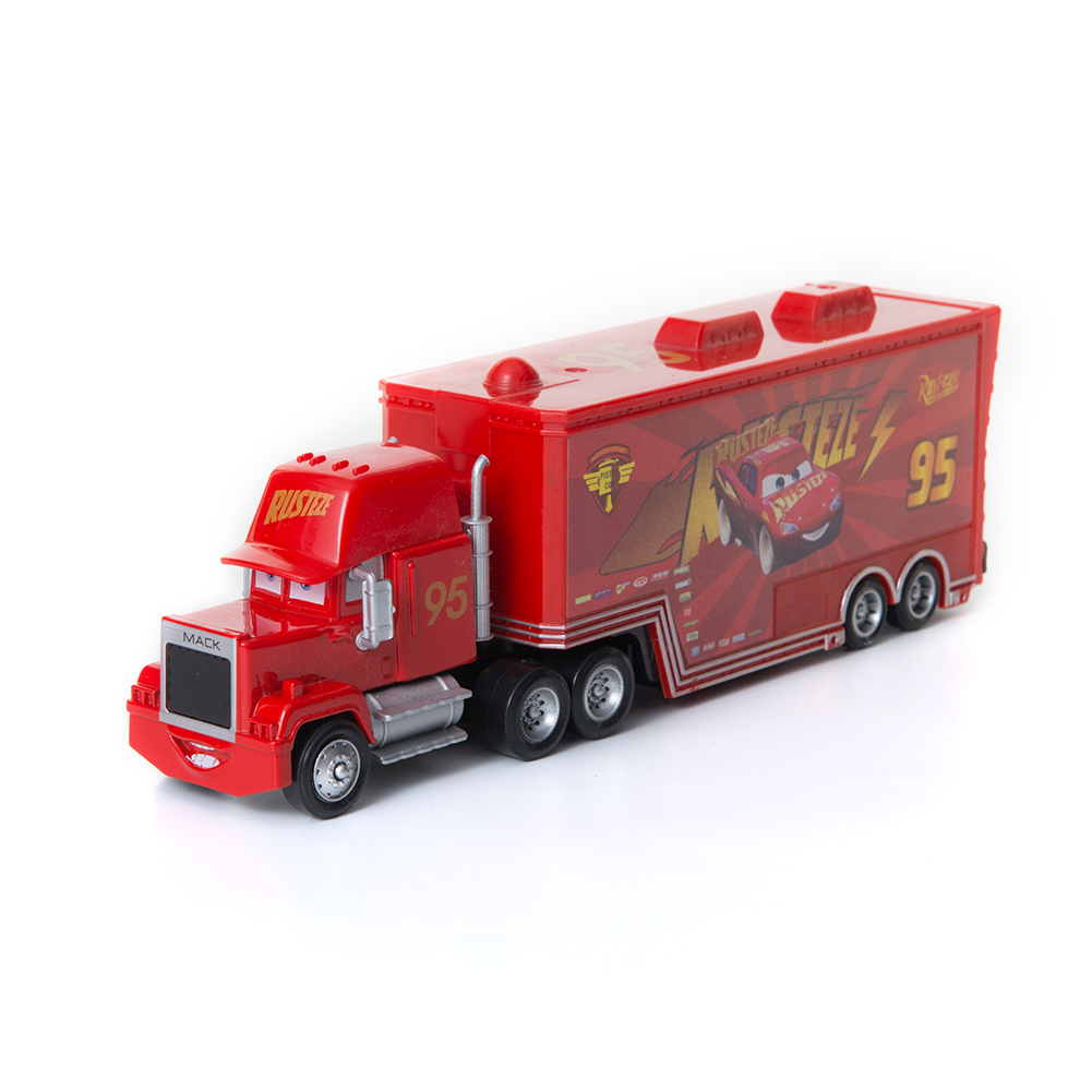 39 Style Disney Pixar Cars 2 Toys Lightning McQueen Mack Uncle Truck Jackson Storm Mater 1:55 Diecast Metal Alloy Car Toy