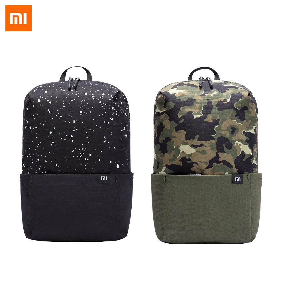 Xiaomi Mi Backpack 10L Mini Bag Level 4 Waterproof Colorful Leisure Sports Chest Pack Bags Unisex for Mens Women Travel Camping image
