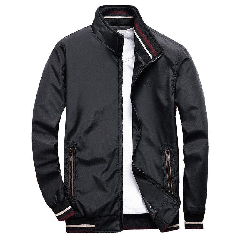 Jacket Men Fashion Casual Coats Sportswear Bomber Jacket Mens Windbreaker Outwear Spring Autumn Streetwear Plus Size M-4XL,GA466