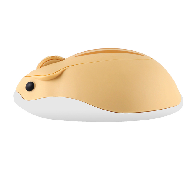 CHUYI 2.4G Wireless Optical Mouse Cute Hamster Cartoon Computer Mice Ergonomic Mini 3D Office Mouse For Kid Girl Gift PC Tablet 4