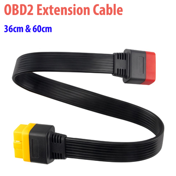 OBD2 Extension Cable for Launch X431 ThinkDiag/Easydiag OBD2 Cable Male to Female 16Pin OBDII Connector Adapter Car Accessories цена 2017