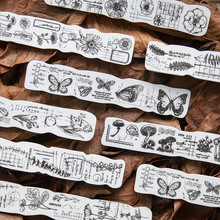 Vintage Butterfly Valley Fern daisy decoration stamp sponge rubber stamps for scrapbooking stationery DIY craft standard stamp