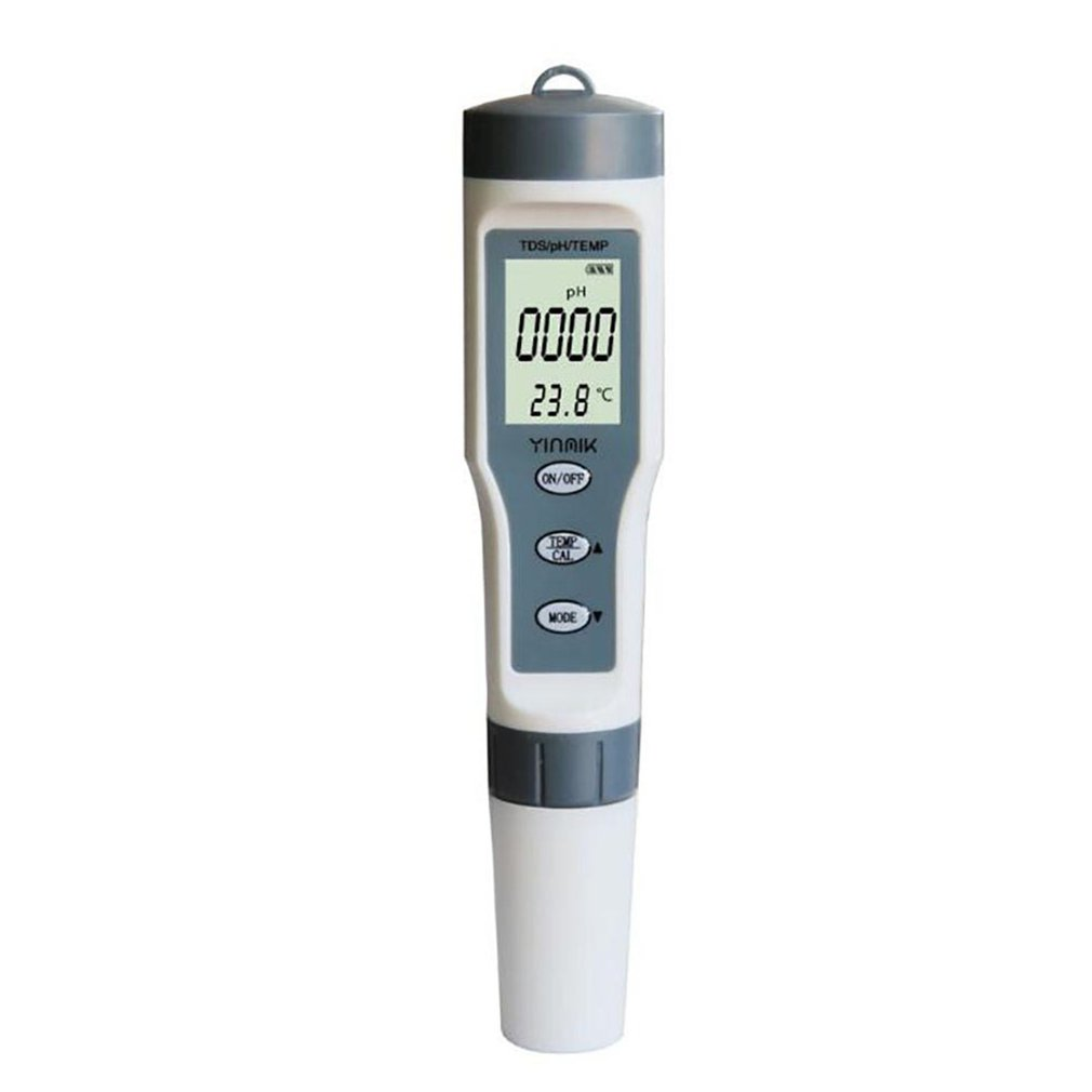 PH Meter 3 In 1 PH/TDS/Temperature Meter Digital Water Quality Monitor Tester Detector For Pools Drinking Water Aquariums