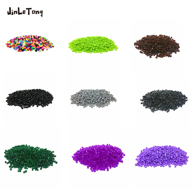 JINLETONG Hama Beads 5mm 1000pcs perler Iron Beads for Kids Hama Beads Diy 3d puzzles  High Quality Handmade Gift Toy 5