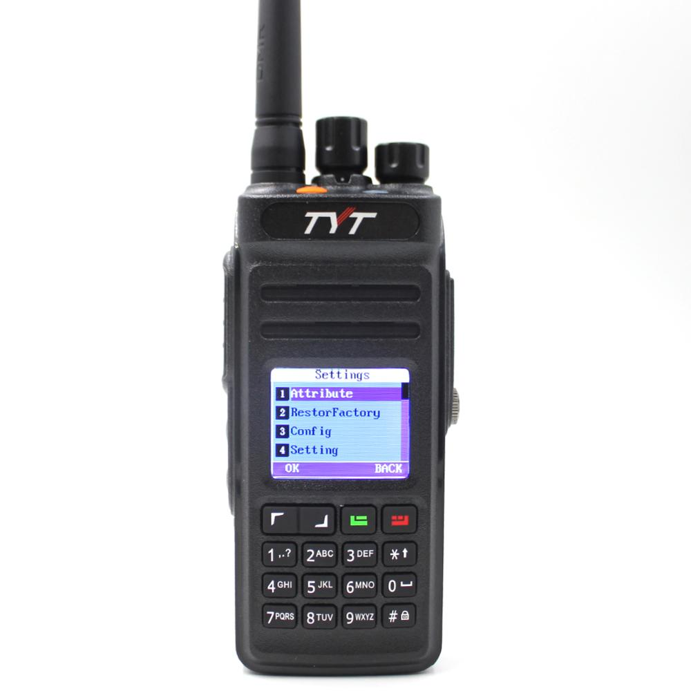 TYT Md-398 Digital Walkie Talkie 10W UHF 400-470mHz Two Way Radio Ham Transceiver IP67 Waterproof DMR Radio