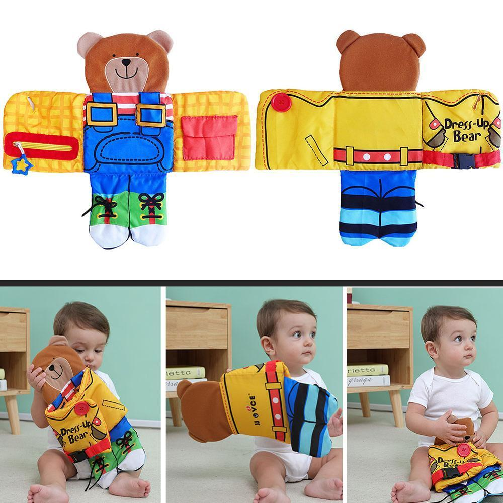 Mobile Baby Toys 0-12 Months Baby Child Trailer Date Newborn Early Childhood Educational Toys Training Baby Cloth Book Toys